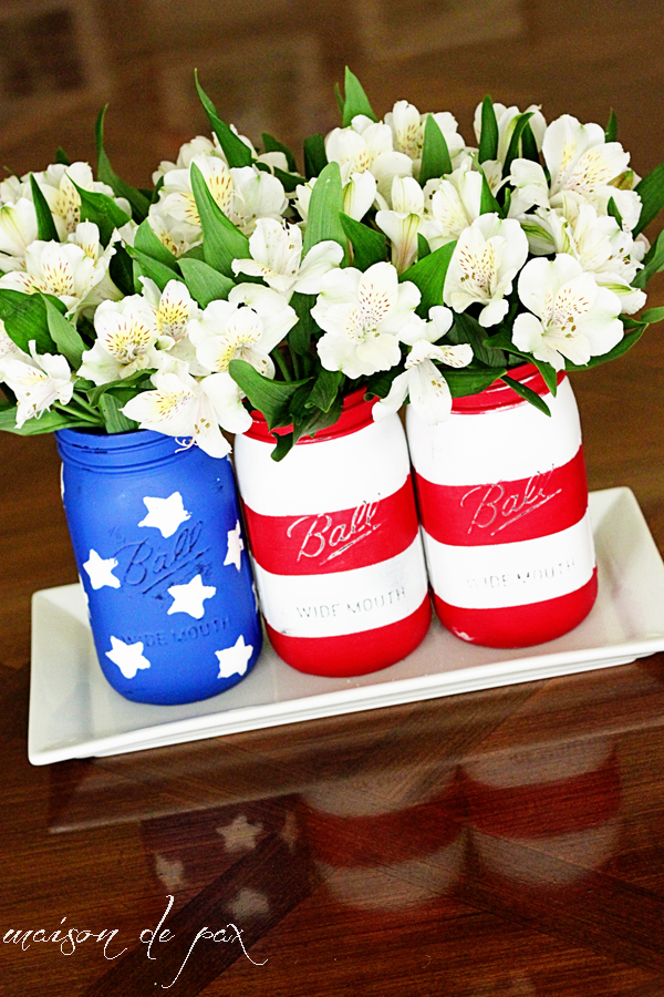 patriotic-decor-mason-jars