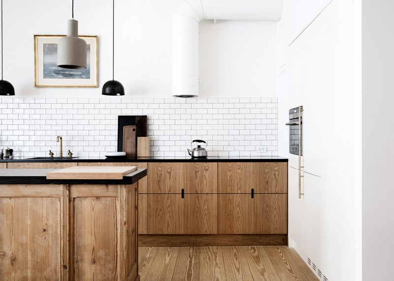 wood-cabinets-kitchen-subway-tile-notched-pulls