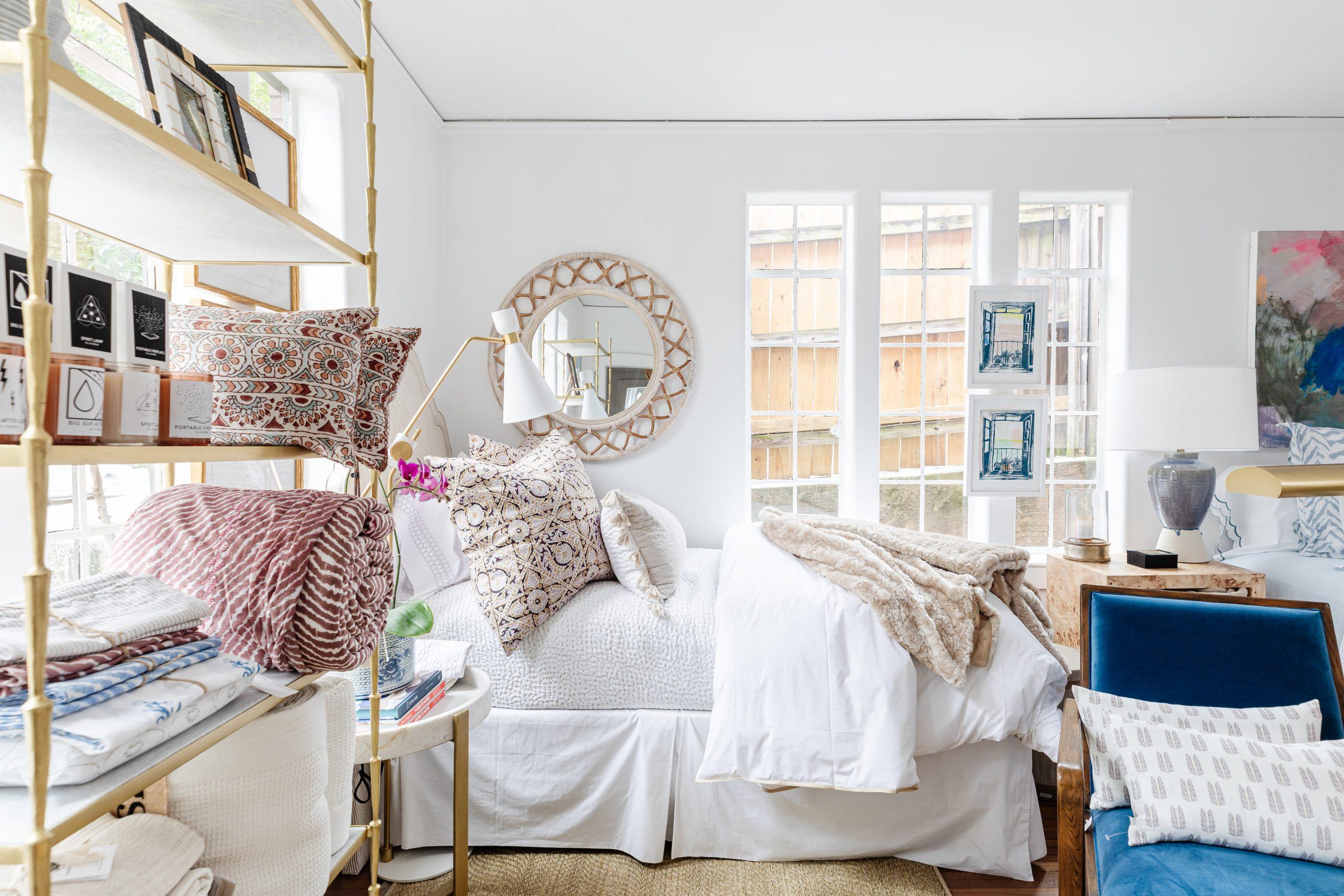 linens interiors design Charlotte